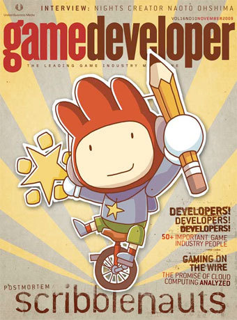 Scribblenaughts Game Developer Magazine